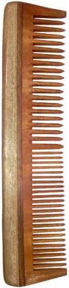 Ginni Marketing Ginni Regular Neem Wood Comb(7.5 Inches )