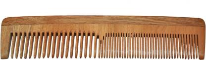 Majik 100% Neem Wood Comb, Controls Hair Loss And Dandruff (Buy Orignal Comb With Packing From Seller Rahairworld)