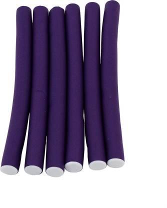 Styler Purple Soft Stick Self Holding Roller Pack Of 6 Hair Curler