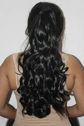 Ritzkart Women Ponytail Orginal Feel  Quality Hair Extension