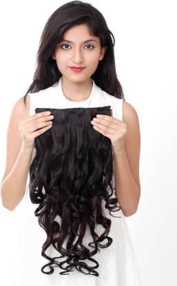 Ritzkart Womens Half hi quality Synthetic extension Hair Extension