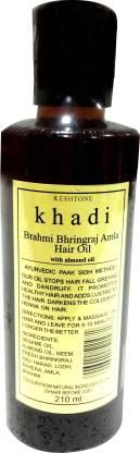 Rockside Khadi Brahmi Bhringraj Amla  Hair Oil
