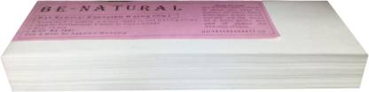 Be-Natural Waxing Strips- 90GSM Strips