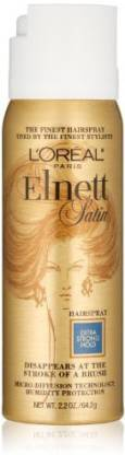 L'Oréal Paris Elnett Satin Hairspray Extra Strong Hold (Travel Size) Hair Spray