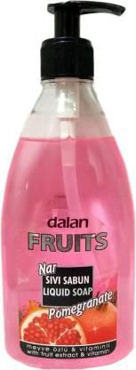 Dalan Fruits Pomegranate Liquid Soap (Made In Turkey) Hand Wash Bottle