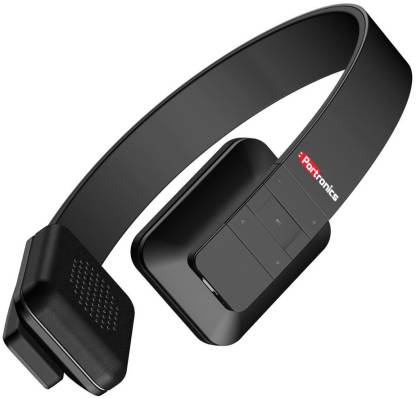 Portronics Muffs XT, POR 607 Bluetooth without Mic Headset
