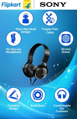 SONY MDR-XB400/BQE Bluetooth without Mic Headset