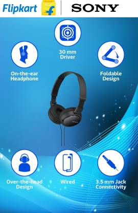 Sony ZX110 Wired Headset without Mic