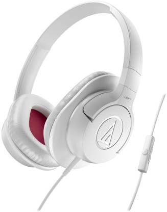 Audio Technica ATH-AX1iS WH Wired Headset