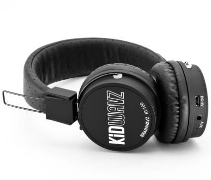 BRAINWAVZ Kidwavz KV-100 Childrens Wireless Volume Limited Bluetooth Headset