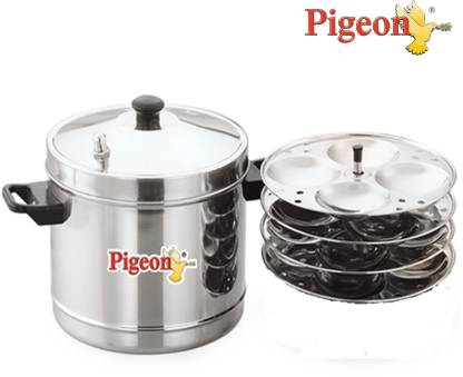 Pigeon Stainless Steel 4 Plates Idli Maker for ₹689
