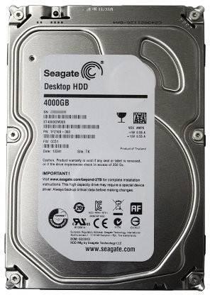 Seagate HDD 4 TB Desktop Internal Hard Disk Drive (ST4000DM000)