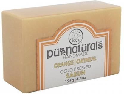 Pure Naturals Hand Made Soap Orange   Oatmeal
