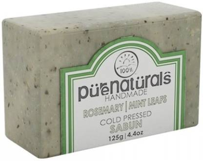 Pure Naturals Hand Made Soap Rosemary | Mint Leafs