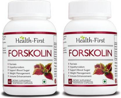 Health first Forskolin for Healthy Weight Loss& Blood Sugar Support, 500 mg 120 capsules(500 mg)