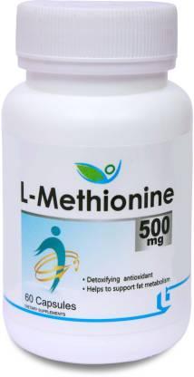 BIOTREX NUTRACEUTICALS L-Methionine 500mg