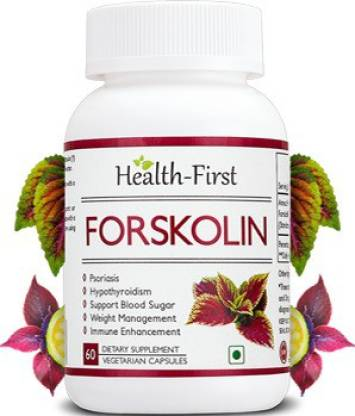 Health first Forskolin for Healthy Weight Loss& Blood Sugar Support, 500 mg 60 capsules(500 mg)