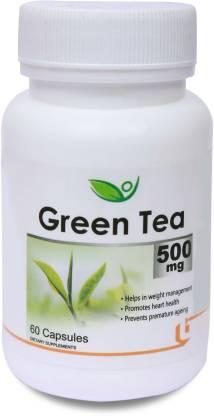 BIOTREX NUTRACEUTICALS Green Tea 500 mg,