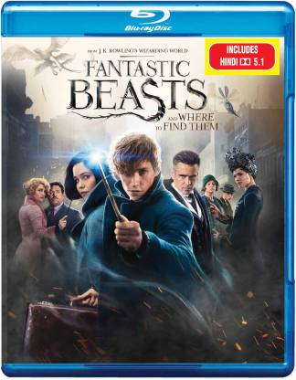 Fantastic Beasts And Where To Find Them – Blu Ray