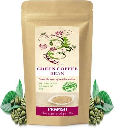 Pramsh Premium Quality Decaffeinated Green Coffee Bean For Quick Weight/Fat Loss (100% pure, natural & herbal) 100gm