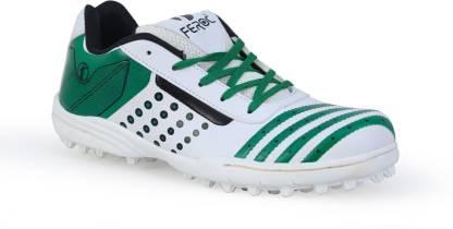 Feroc White Grren Turbo Tennis Shoes For Men