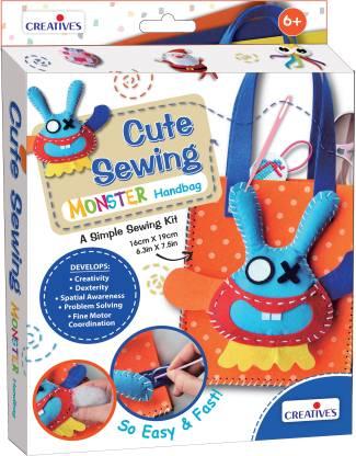 Creatives Cute Sewing – Monster Handbag