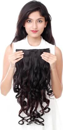 Ritzkart Womens Half hi quality Synthetic extn highlighter Hair Extension