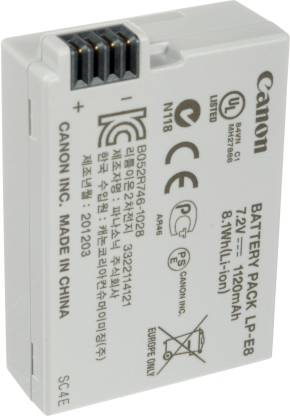 Canon LP- E8  Battery