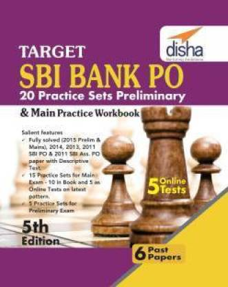 Target SBI Bank Preliminary & Main PO Exam 20 Practice Sets Workbook with Online Tests (English 5th edition)