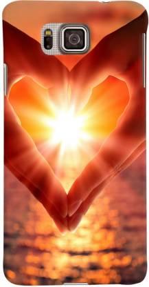 PrintVisa Back Cover for Samsung Galaxy Alpha G850, Samsung Galaxy Alpha G850F