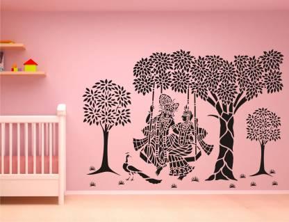 Wall Guru Medium Sticker, Wall Stickers For Living Room
