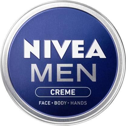 NIVEA Men Creme, Non Greasy Moisturizer, Cream for Face, Body & Hands