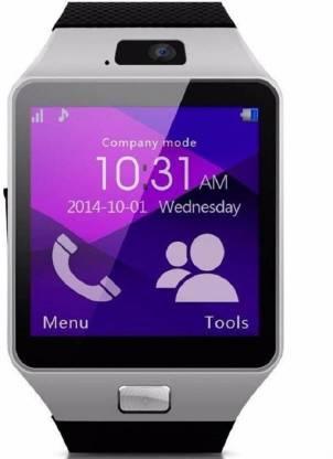 mobspy Dz09Silver-123 phone Smartwatch