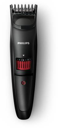 Philips QT4005/15 Runtime: 45 min Trimmer for Men Black  Philips Trimmers