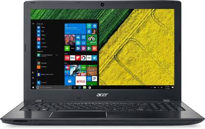 Acer Aspire APU Quad Core A4    4   GB/500   GB HDD/Windows 10 Home  ES1 523 Laptop   15.6 inch, Black, 2.4 kg  Acer Laptops