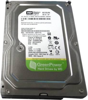 Wd Western Disital 1000 Gb Desktop Internal Hard Disk Drive Wd10eurx 63fh1y0 Wd Flipkart Com