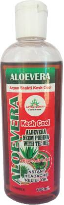 Arynshakti Aloevera Kesh Cool  Hair Oil