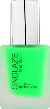 ONGLAZE Nail Polish Neon Green