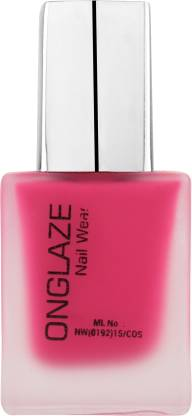 ONGLAZE Nail Polish Dark Pink