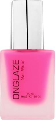 ONGLAZE Nail Polish Neon Pink