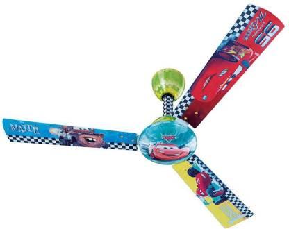 Bajaj Disney Cars For Kids 1200 Mm Cr01 1200 Mm 3 Blade Ceiling Fan Price In India Buy Bajaj Disney Cars For Kids 1200 Mm Cr01 1200 Mm 3 Blade Ceiling Fan Online At Flipkart Com