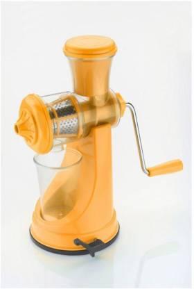 Magikware Plastic Hand Juicer Orange Elegant Fruit & Vegetable Juicer