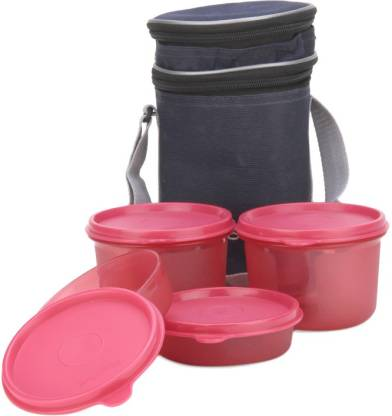 Polyset Magic Seal Premium 4 Containers Lunch Box