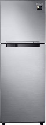 Samsung 321 L Frost Free Double Door 3 Star Refrigerator Elegant Inox, RT34M3053S8/HL  Samsung Refrigerators