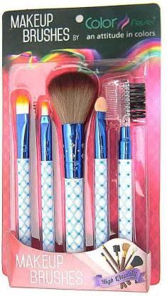Color Fever Makeup Brush Set - Navy Blue