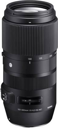 SIGMA 100-400mm F5-6.3 DG OS HSM Contemporary lens for Canon DSLR Cameras  Lens