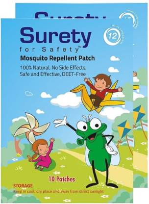 Surety for Safety Patch 10 (Pack of 2)