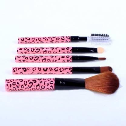 Jubujub Ostart Cosmetic Makeup Tool Brush Kit Travel Set - Pink