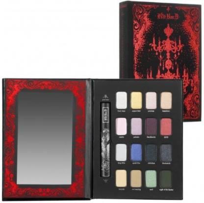 KAT VON D Tattoo Chronicles Candelabra ($146 Rv) Eyeshadow Palette Mascara Ltd 13.3198 g