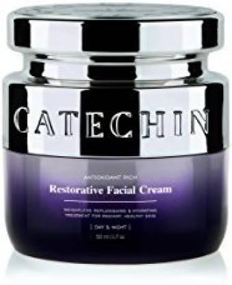 Catechin Skincare Women Natural Face Cream Anti-aging, Moisturizer, Antioxidants Based